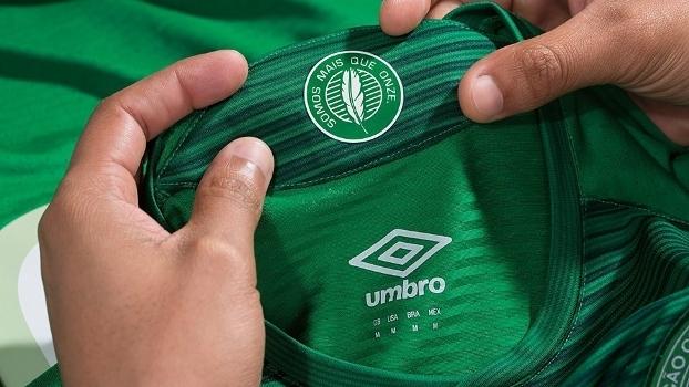Chapecoense Nova Camisa 1 Umbro 19/05/2017