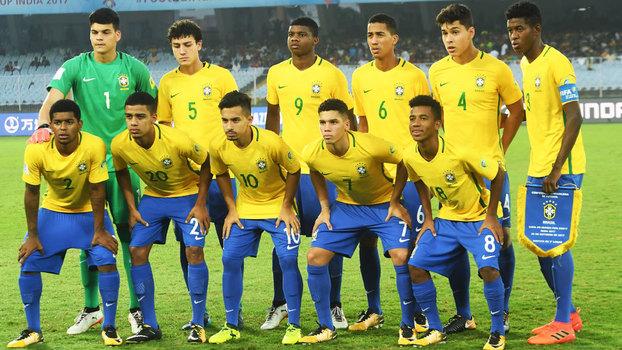 Brasil vence Mali e fica em terceiro no Mundial Sub-17