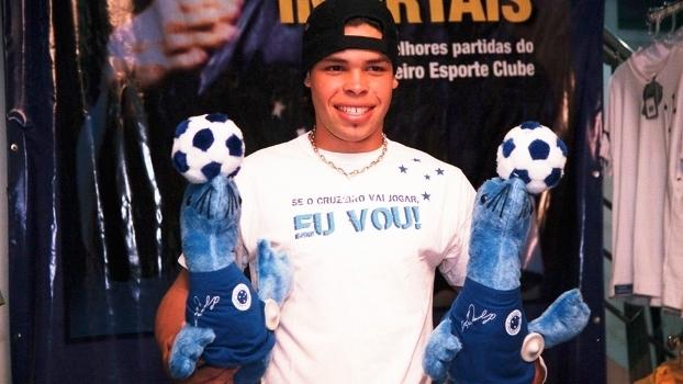 Kerlon Foquinha Lançamento Brinquedo Cruzeiro 11/10/2007