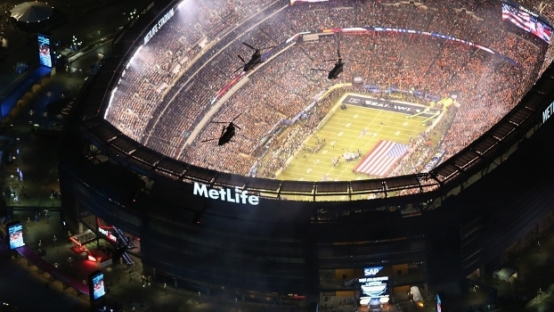 MetLife Stadium Super Bowl XLVIII 02/02/2014
