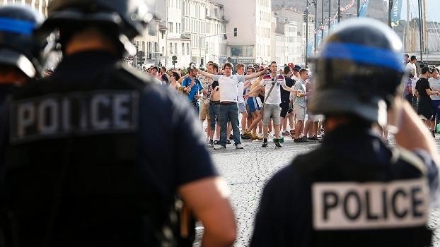 Policia Marselha Inglaterra Russia Euro-2016 13/06/2016