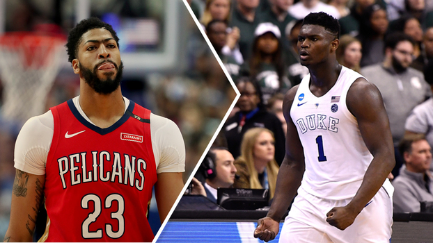 Anthony Davis e Zion Williamson