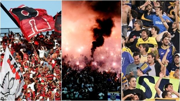 Torcidas de Flamengo, Corinthians e Boca Juniors, os mais populares da América do Sul