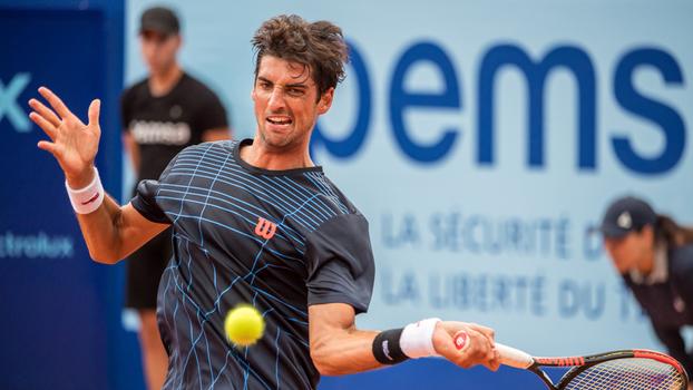 Bellucci em ação no ATP de Gstaad, na última semana