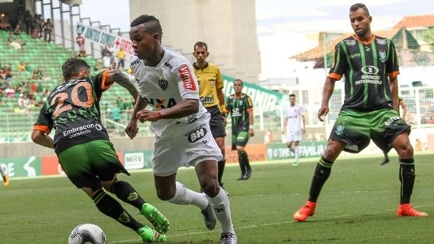 Ronei Alves Cândido apitou o clássico entre América-MG e Atlético-MG
