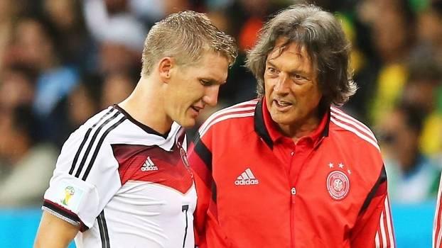 Schweinsteiger Hans-Wilhelm Muller-Wohlfahrt Medico Alemanha Argelia Copa do Mundo 2014 30/06/2014