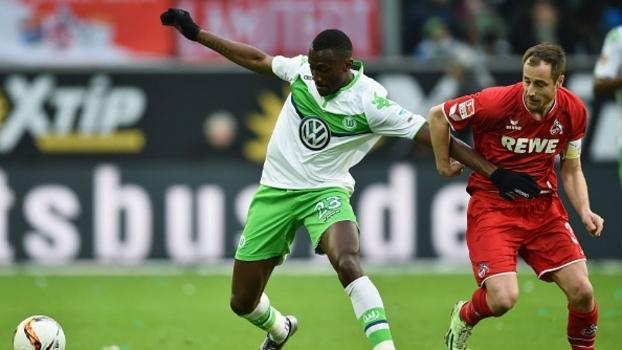 Guilavogui do Wolfsburg no jogo de domingo