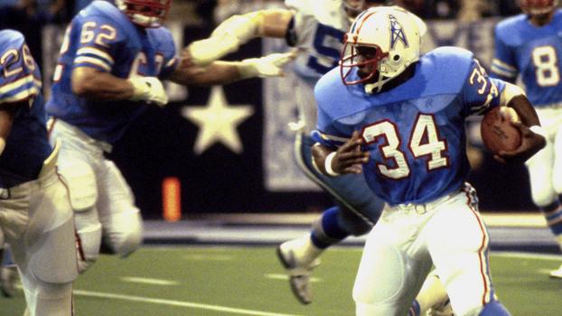 Earl Campbell em ação pelo Houston Oilers 281a67b17ce29