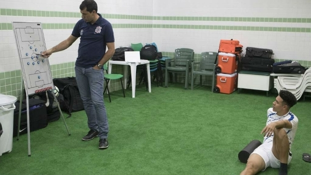 Carille provavelmente armará o Corinthians sem Marquinhos na próxima rodada