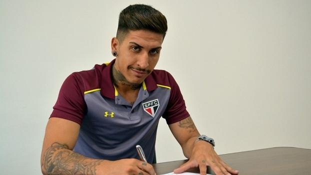 Gabriel, que foi destaque no sub-20, assinou em definitivo com o São Paulo