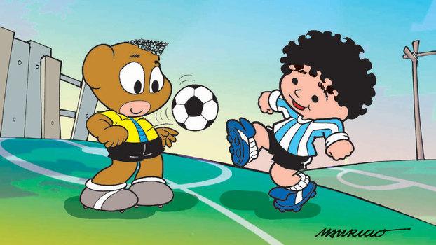 Há 40 anos, histórias em quadrinhos ganhavam 'Pelezinho'; mas rei do  futebol queria que personagem fosse o 'Pelezão' - ESPN