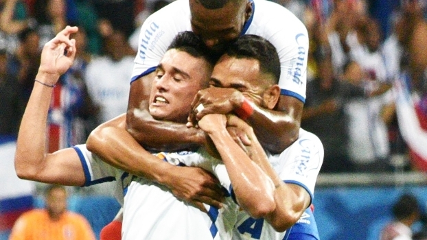 Bahia Comemora Gol Parana Serie B 27/08/2016
