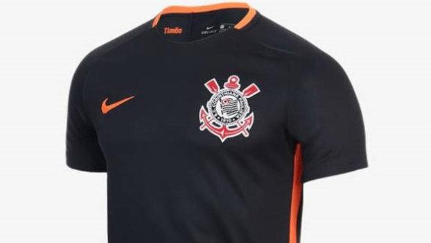 Corinthians estreia nova terceira camisa no clássico da Vila  9ef02e344ced0