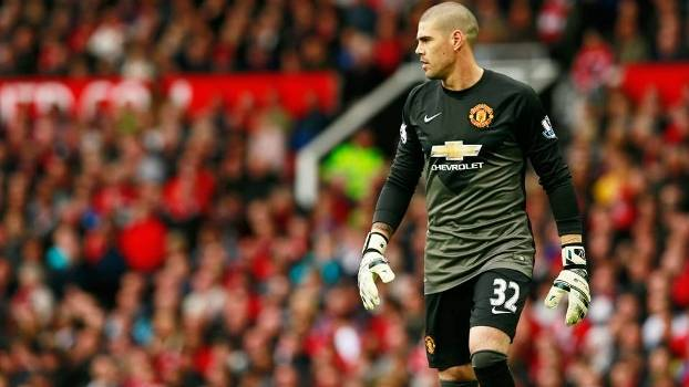 Victor Valdes Manchester United Arsenal Campeonato Ingles 17/05/2015