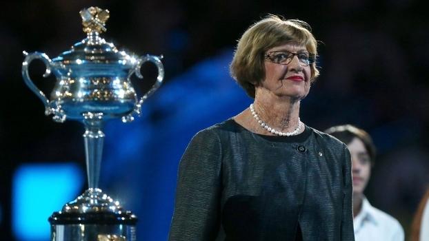 Margaret Court venceu 11 vezes o Australian Open
