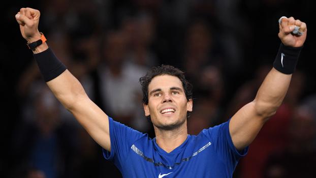 Nadal revê no ATP Finals rivais que dominou em 2017