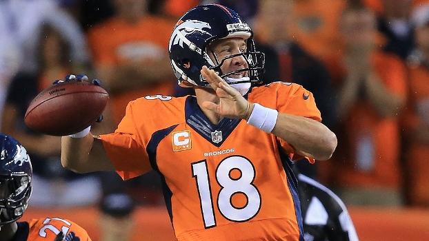Peyton Manning bateu o recorde de passes para TD em 2013 cd3e86ea5ec40