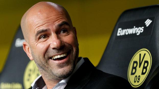 Peter Bosz chegou ao Dortmund nesta temporada