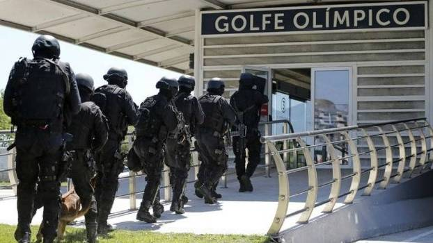 Resultado de imagem para segurança Rio 2016