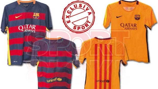 dbf9d1226b Jornal  Barcelona revoluciona e vai lançar camisa com listras horizontais   veja - ESPN