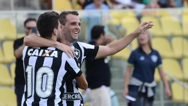 Montillo marca o primeiro gol pelo Botafogo em goleada contra o Rio Branco-ES