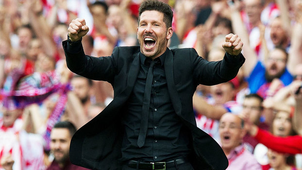 Diego Simeone, técnico do Atlético de Madrid