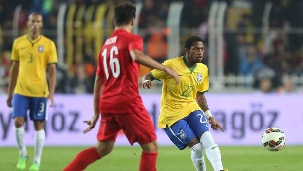 Fred foi convocado no lugar de Luiz Gustavo