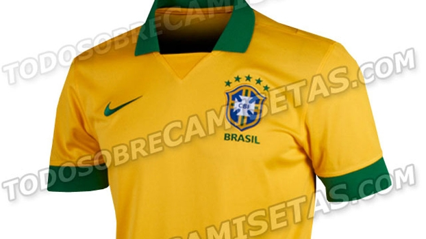 a91de2e533 Site vaza possível camisa da seleção brasileira na Copa das Confederações -  ESPN