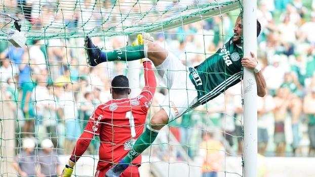 Edu Dracena Palmeiras Ponte Preta Amistoso 29/01/2017