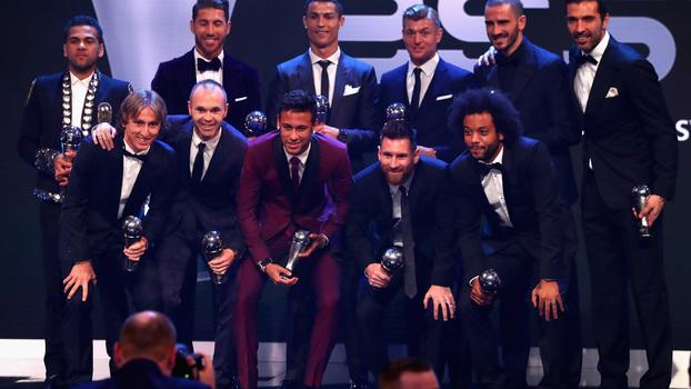 The Best FIFA: Zidane é o melhor treinador e faz história