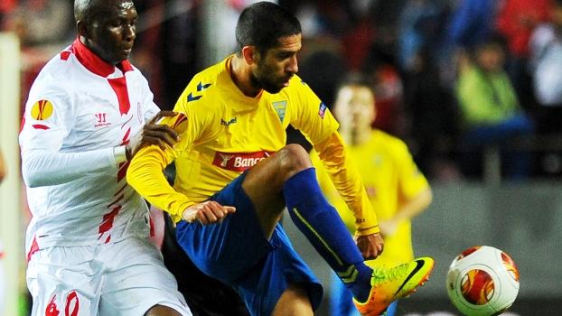 Evandro Estoril Mbia Sevilla Liga Europa 28/11/2013