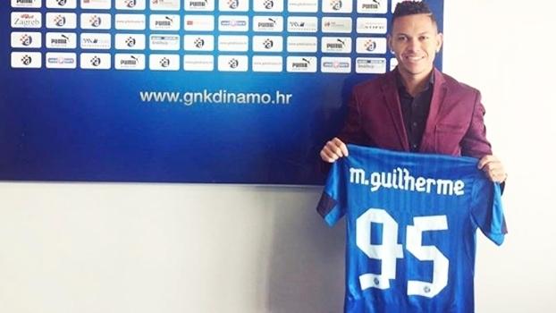 Marcos Guilherme é apresentado no Dínamo Zagreb