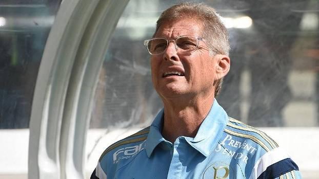 Oswaldo de Oliveira, técnico do Palmeiras