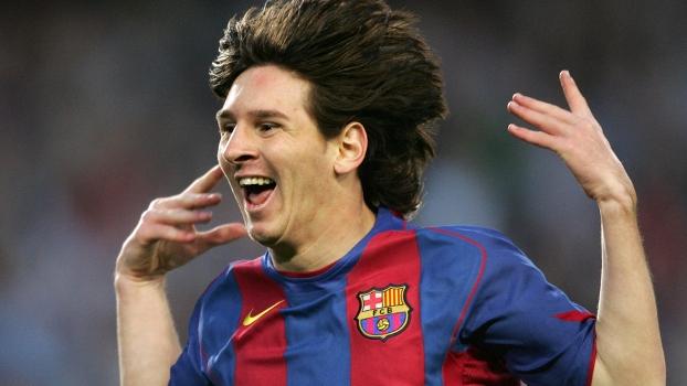 Messi lembra 1º gol e dedica recorde a quem o apoiou  técnico vê  marca  inigualável  - ESPN 33845ef080bb8