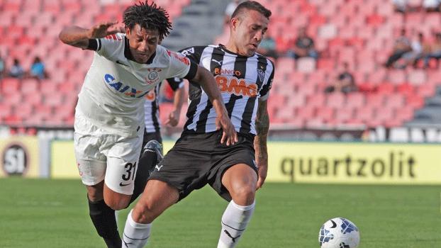 3bf6bcde830e2 Corinthians e Atlético estrearam sem gols no Campeonato Brasileiro