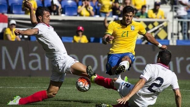 Hulk retornou à seleção brasileira após um ano fora ... 99461bf5322a9