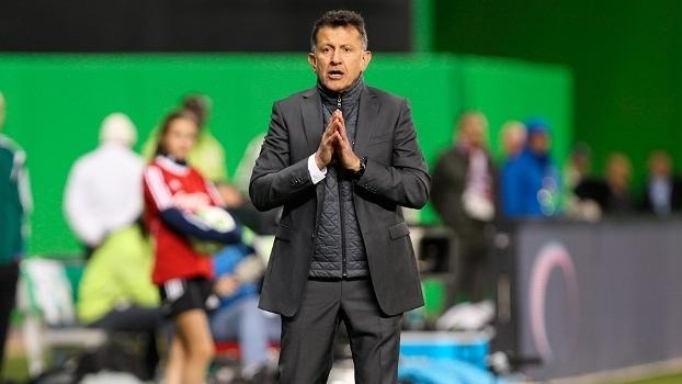 Juan Carlos Osorio, técnico do México, em amistoso contra Senegal