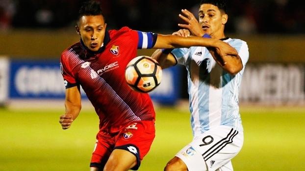 El Nacional Atletico Tucuman Libertadores 07/02/2017