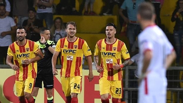 Benevento subiu com um gol de Carpi