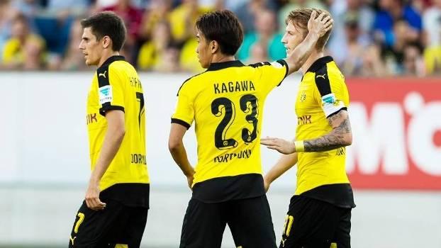 Reus Kagawa Comemoram Gol Borussia Dortmund Luzern Amistoso 21/07/2015