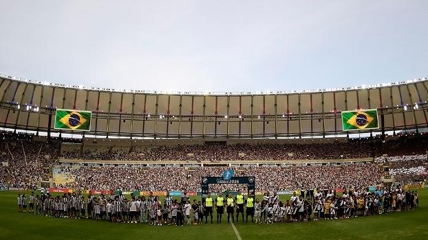 Maracanã voltou a receber jogos de futebol com a final do Campeonato Carioca 4620e2cf65097