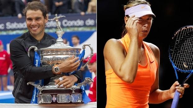 d7e592f28c Rafael Nadal e Maria Sharapova