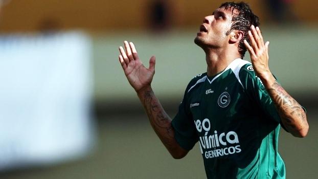 Leo Lima Comemora Gol Goias Gremio Campeonato Brasileiro 27/09/2009