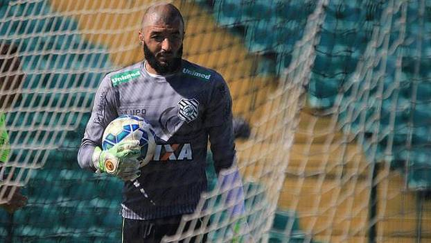 Alex Muralha renovou o seu contrato com o Figueirense