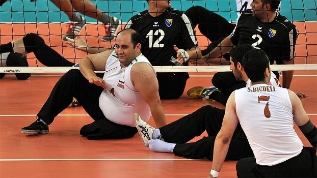Irã é a grande potência no vôlei sentado nas Paralimpíadas