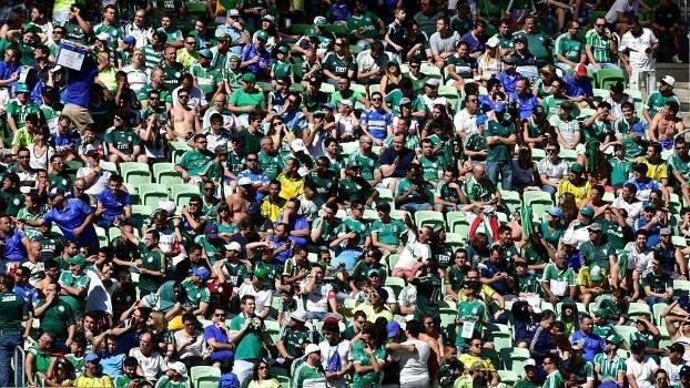 Palmeiras 0 x 1 Atlético-PR teve 38.794 pagantes