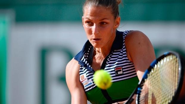 Karoline Pliskova avançou às quartas de final de Roland Garros
