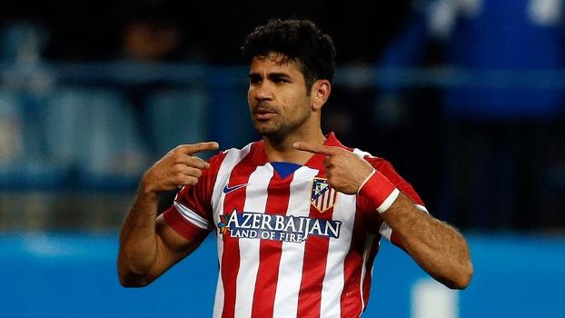Filipe Luis vibra com volta de Diego Costa ao Atlético de Madrid