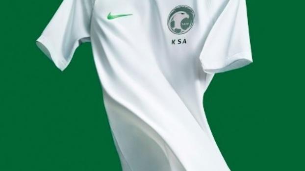 Arábia Saudita lança novas camisas 1 e 2 para a Copa do Mundo ... e3bd103001462