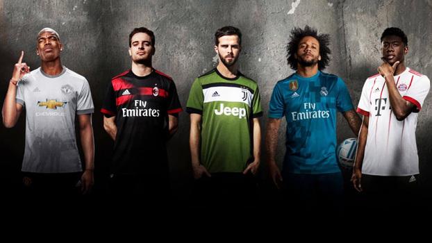 ee19c1c4de Melhores que as escolhidas? Veja as camisas 3 de Fla, Real, United ...